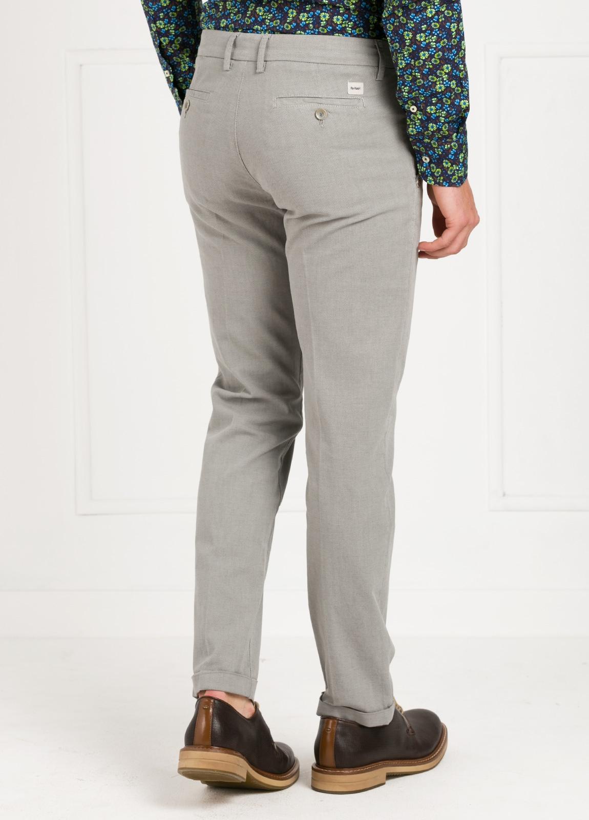 Pantalón sport modelo MUCHA P294 color gris. Algodón y elastáno. - Ítem2