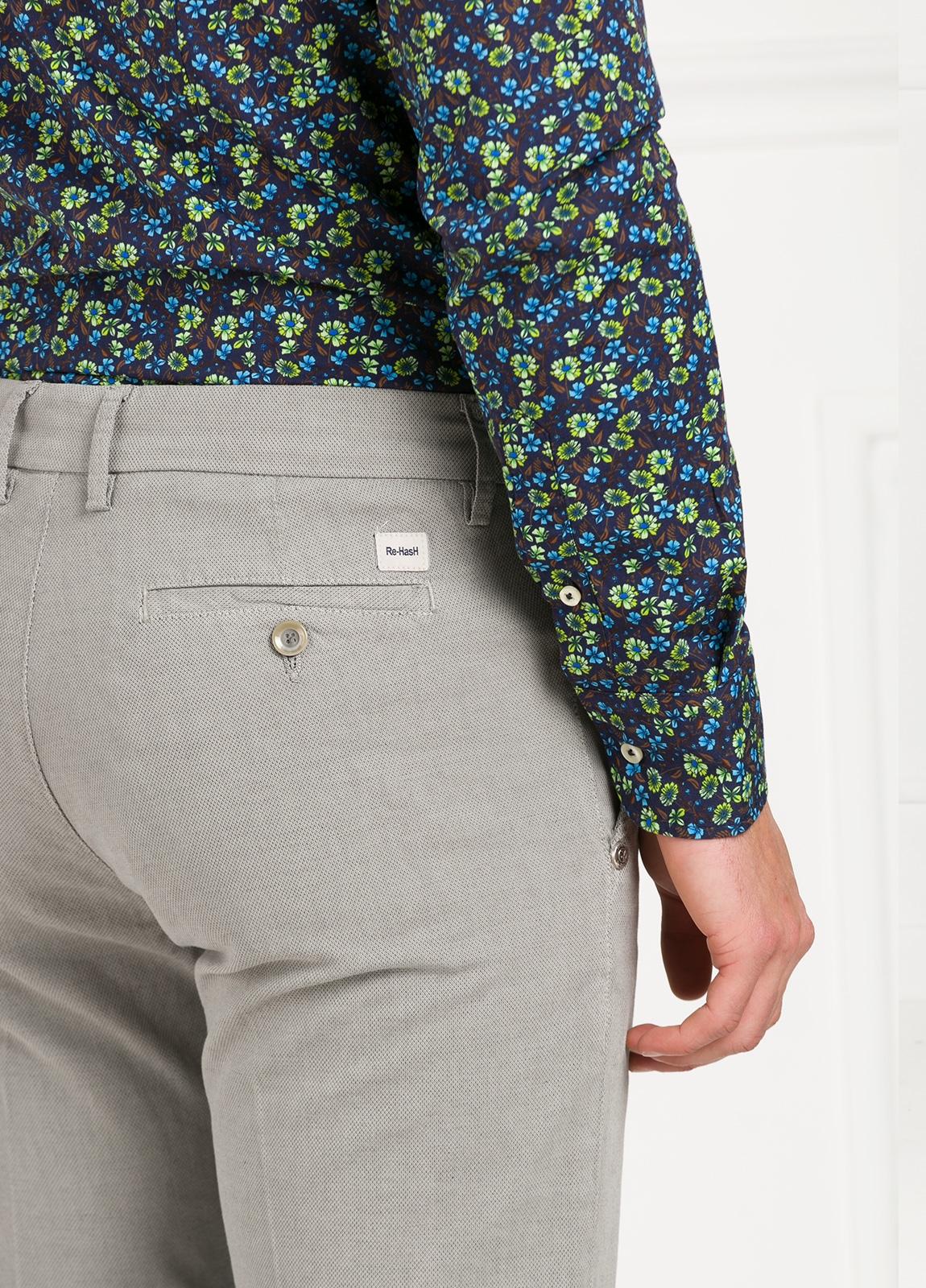 Pantalón sport modelo MUCHA P294 color gris. Algodón y elastáno. - Ítem1