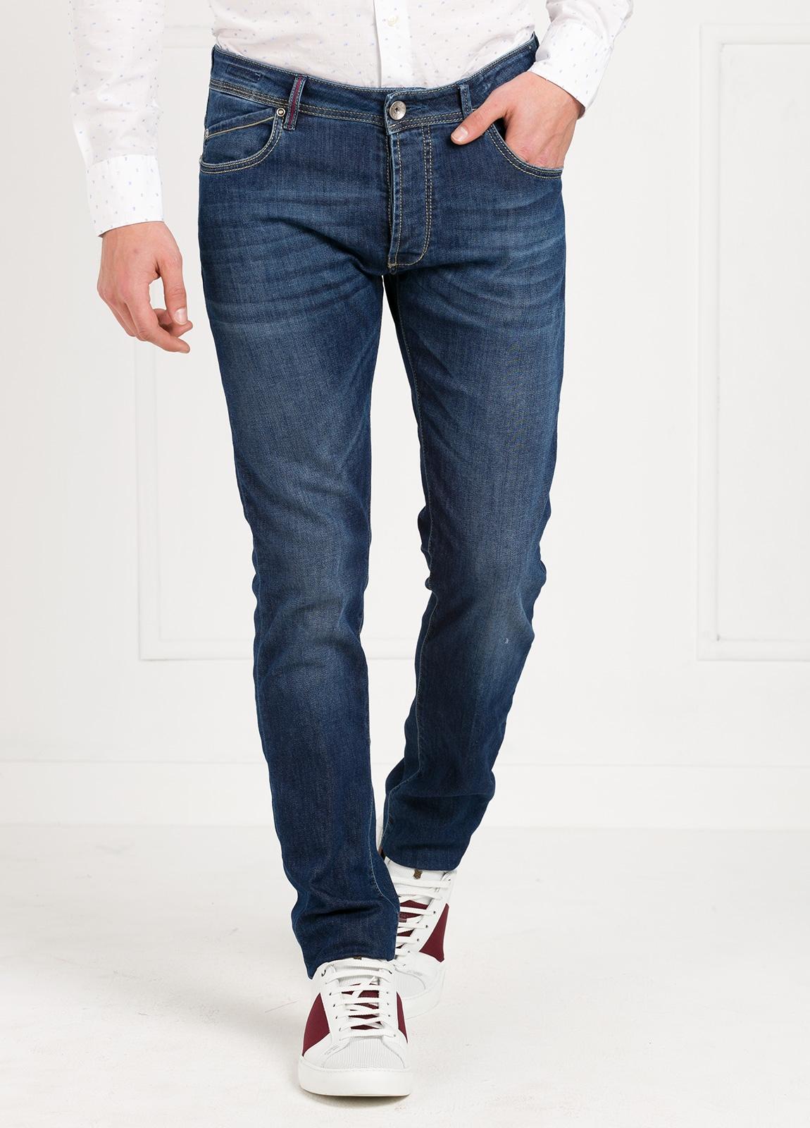 Pantalón tejano modelo POLLOCK P053 color azul. 92% Algodón, 6% Elastomultiéster, 2% Elastáno. - Ítem3