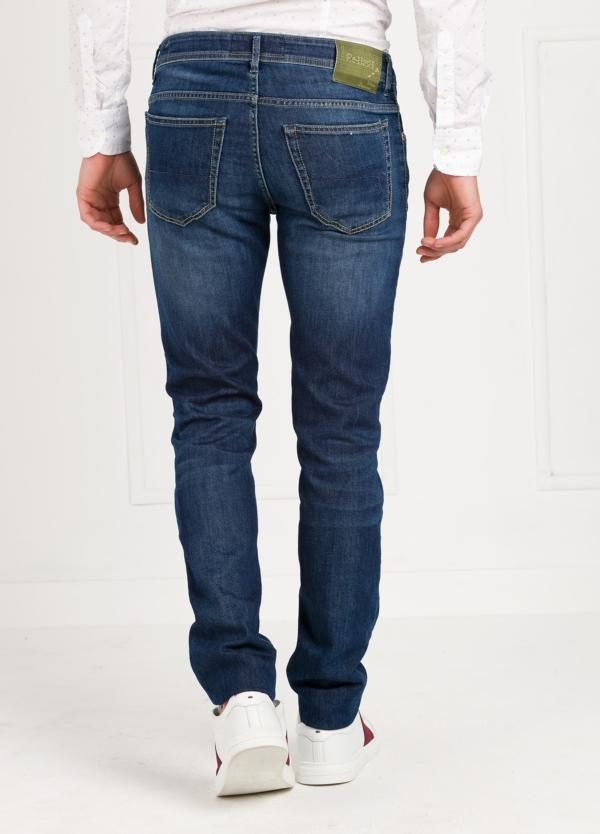 Pantalón tejano modelo POLLOCK P053 color azul. 92% Algodón, 6% Elastomultiéster, 2% Elastáno. - Ítem2