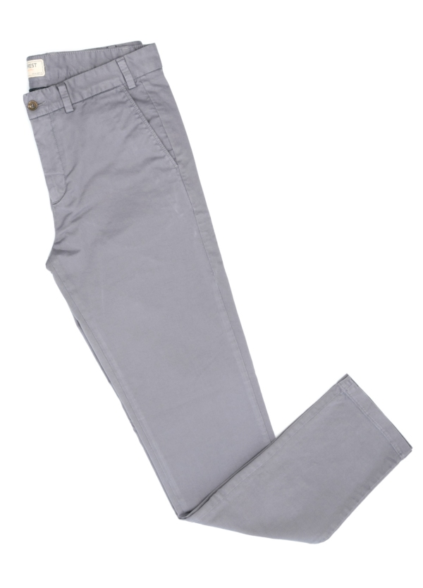 Pantalón Casual Wear, SLIM FIT micro textura color gris, 98% Algodón 2% Elastano.