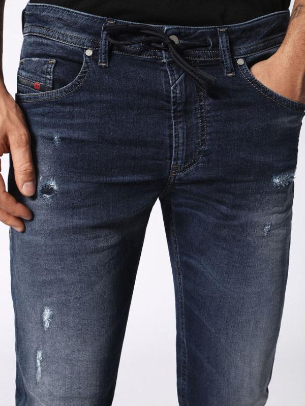 Pantalón tejano skinny modelo THOMMER color azul oscuro lavado. 90% Algodón 8% Poliéster 2% Elastáno. - Ítem2