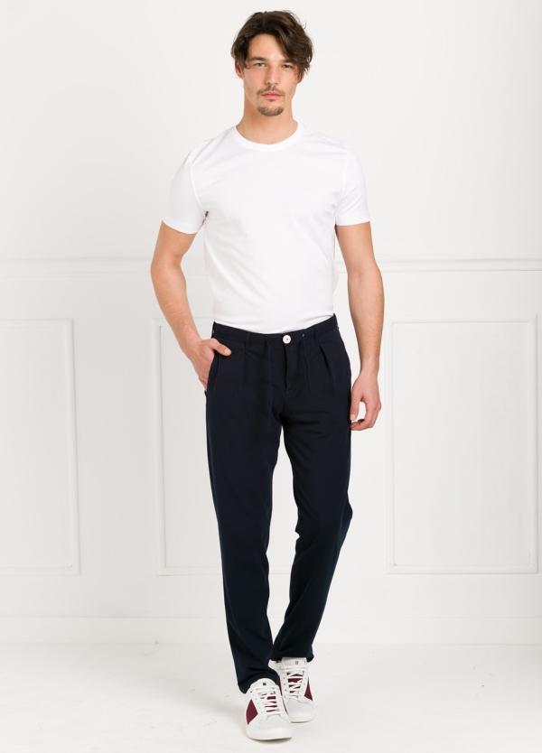 Camiseta básica manga corta cuello redondo color blanco, 100% algodón.