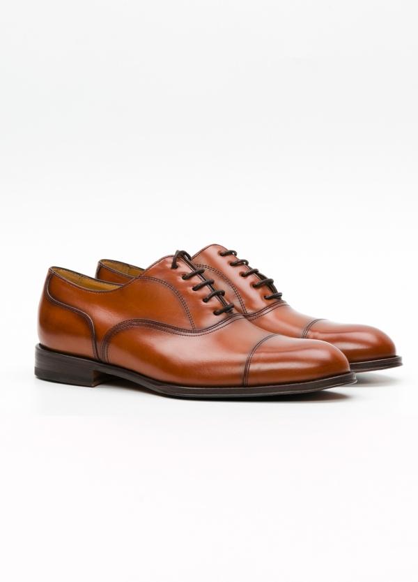 Zapato Formal Wear color marrón con cordones, 100% Piel. - Ítem4