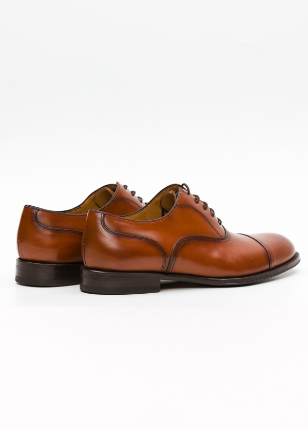 Zapato Formal Wear color marrón con cordones, 100% Piel. - Ítem2