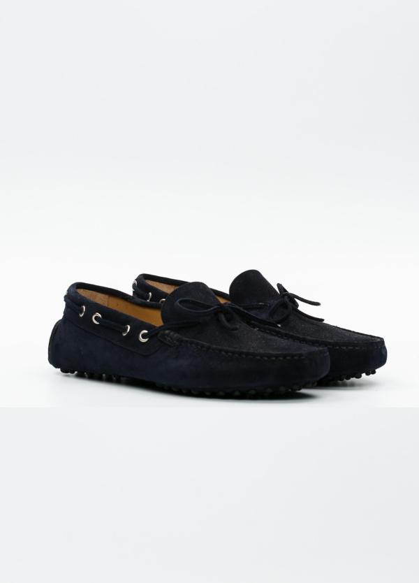 Zapato mocasín Sport color azul marino, 100% Piel. - Ítem3