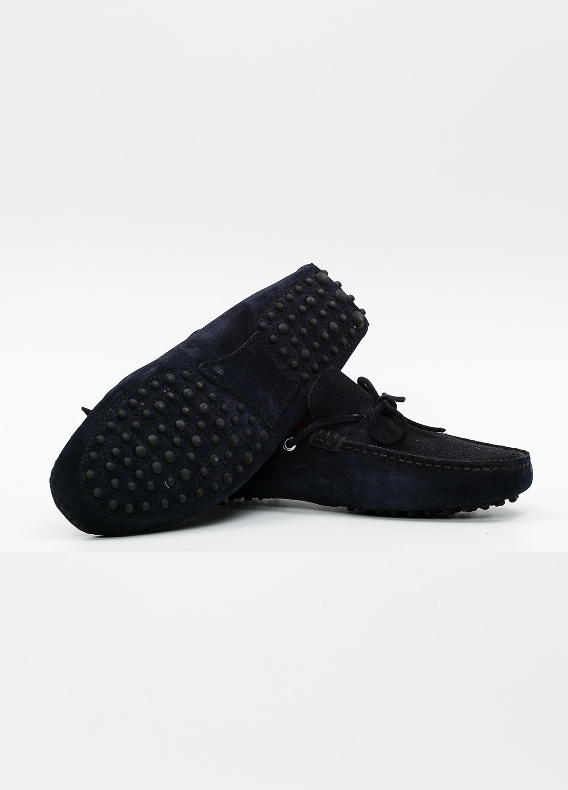 Zapato mocasín Sport color azul marino, 100% Piel. - Ítem2