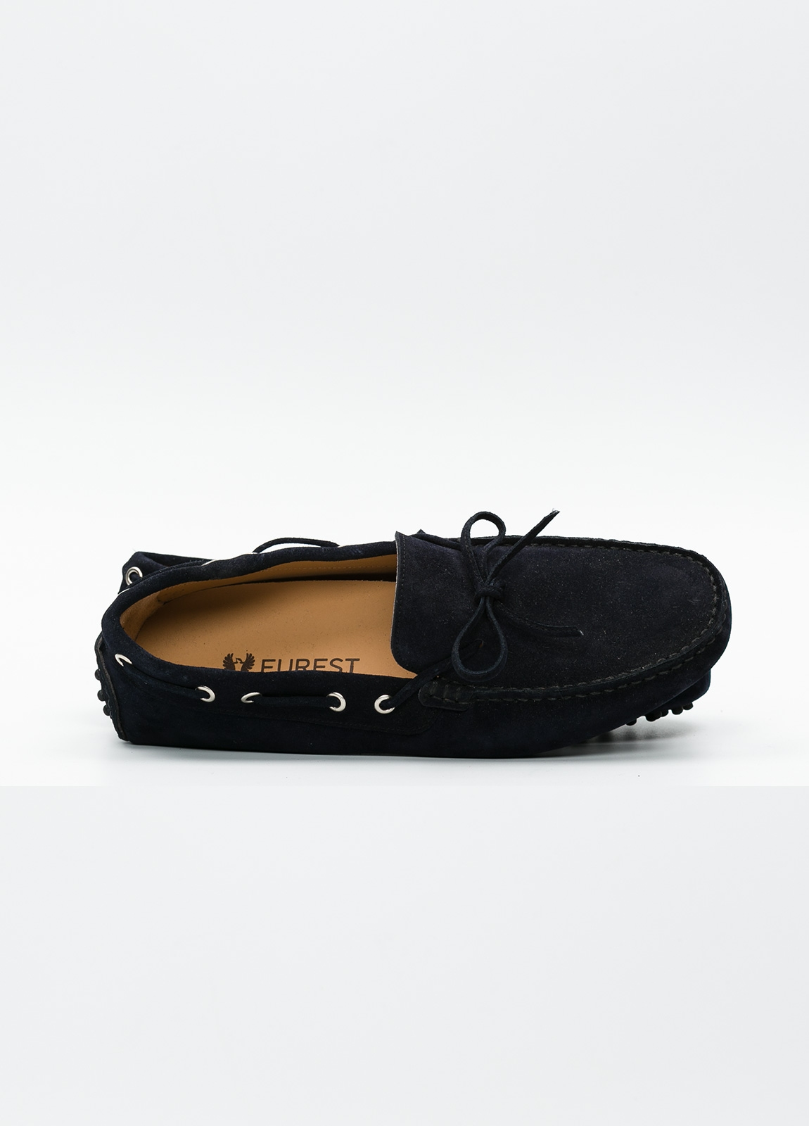Zapato mocasín Sport color azul marino, 100% Piel. - Ítem4