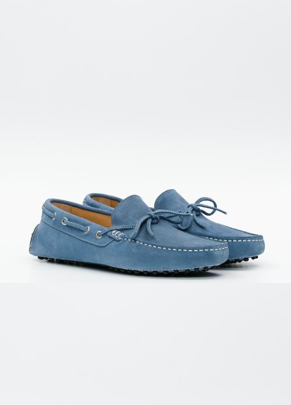 Zapato mocasín Sport color azul, 100% Piel. - Ítem4