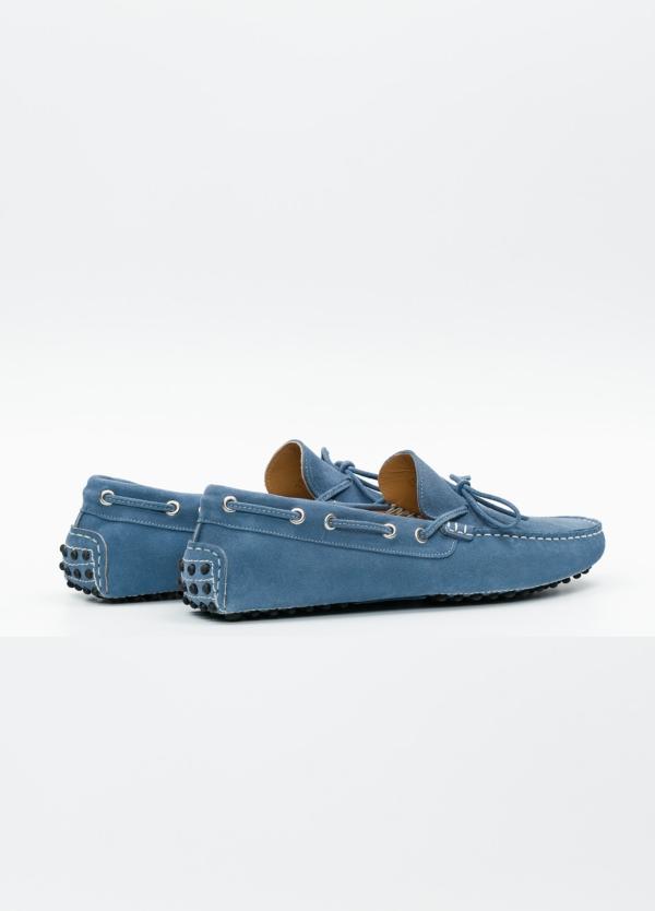 Zapato mocasín Sport color azul, 100% Piel. - Ítem5