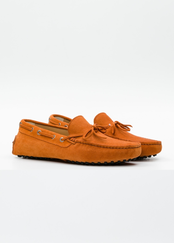 Zapato mocasín Sport color teja, 100% Piel. - Ítem5