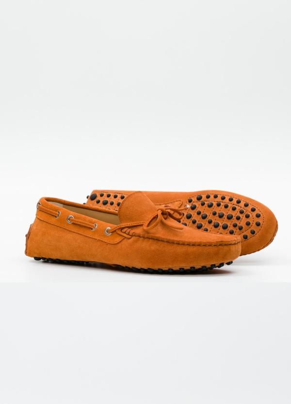 Zapato mocasín Sport color teja, 100% Piel. - Ítem3