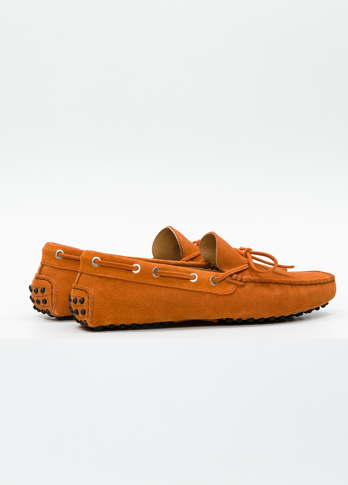 Zapato mocasín Sport color teja, 100% Piel. - Ítem1