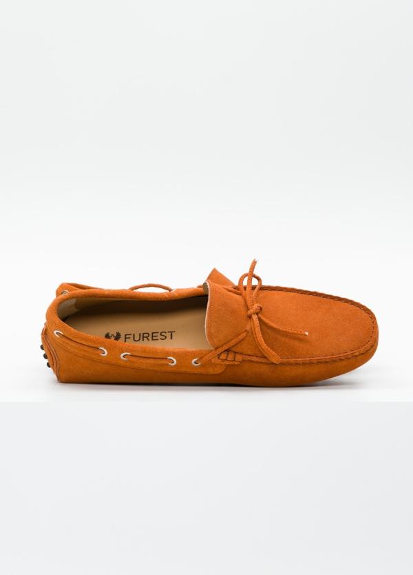 Zapato mocasín Sport color teja, 100% Piel. - Ítem2