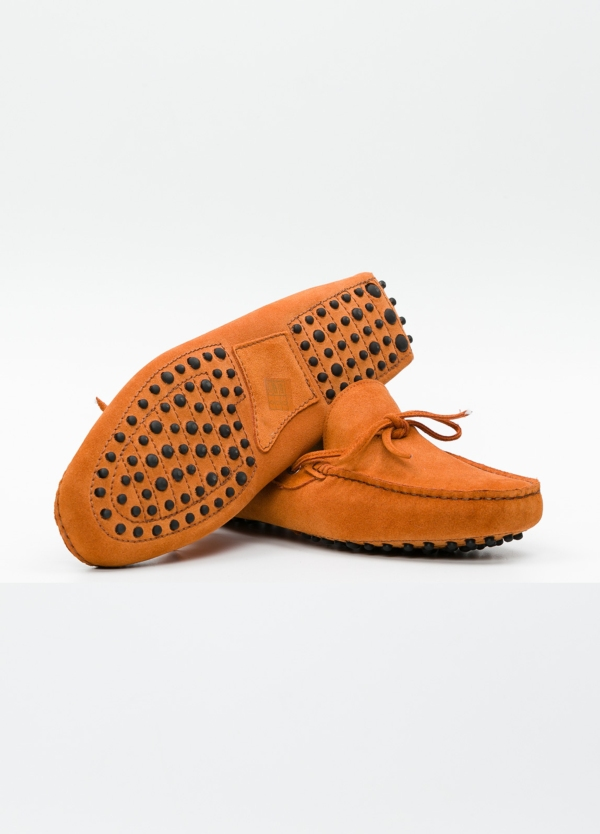 Zapato mocasín Sport color teja, 100% Piel. - Ítem4