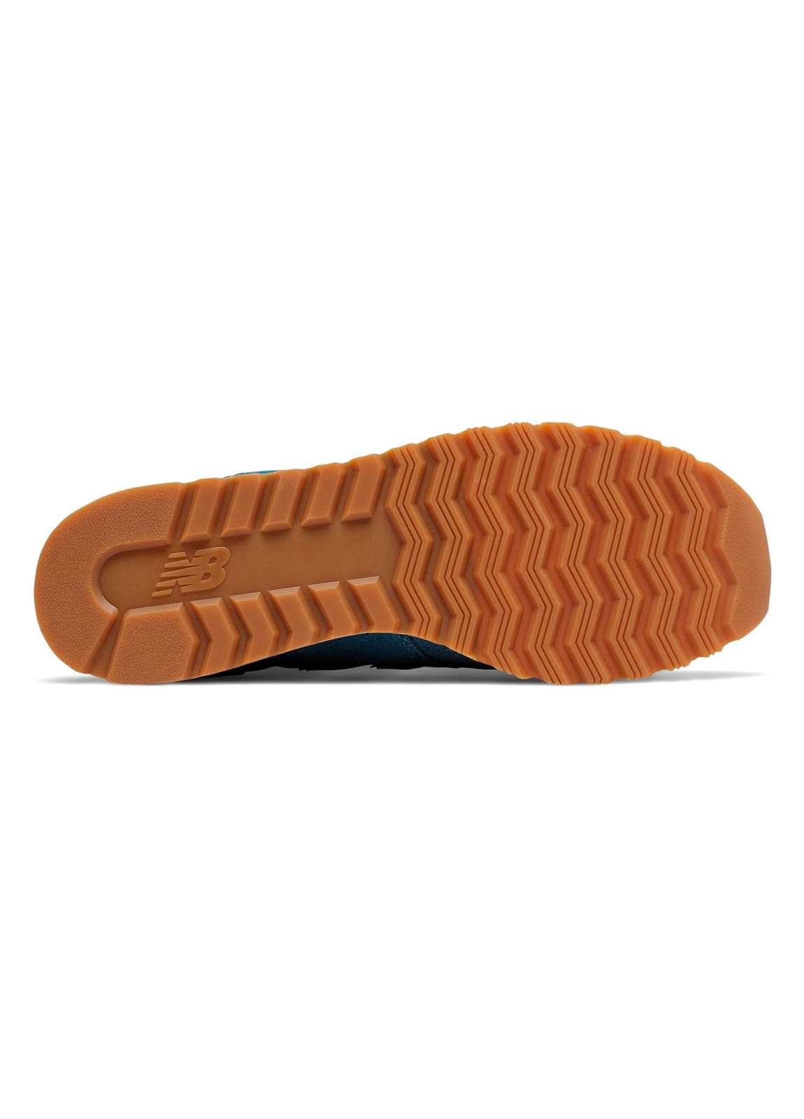 Sneaker hombre U520 color azul turquesa con detalles en blanco serraje, piel y malla. - Ítem3