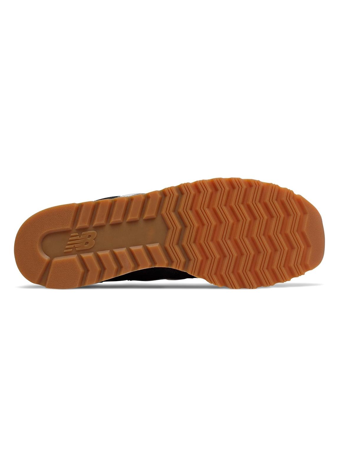 Sneaker hombre U520 color negro con detalles en blanco serraje, piel y malla. - Ítem1
