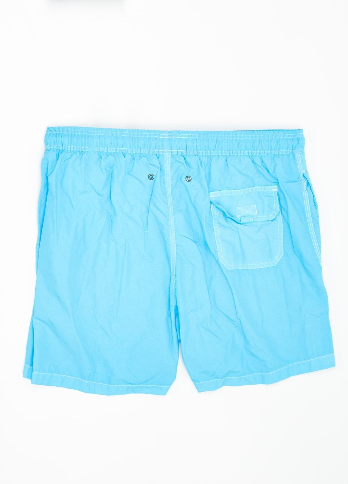 Bañador liso color azul turquesa. - Ítem1