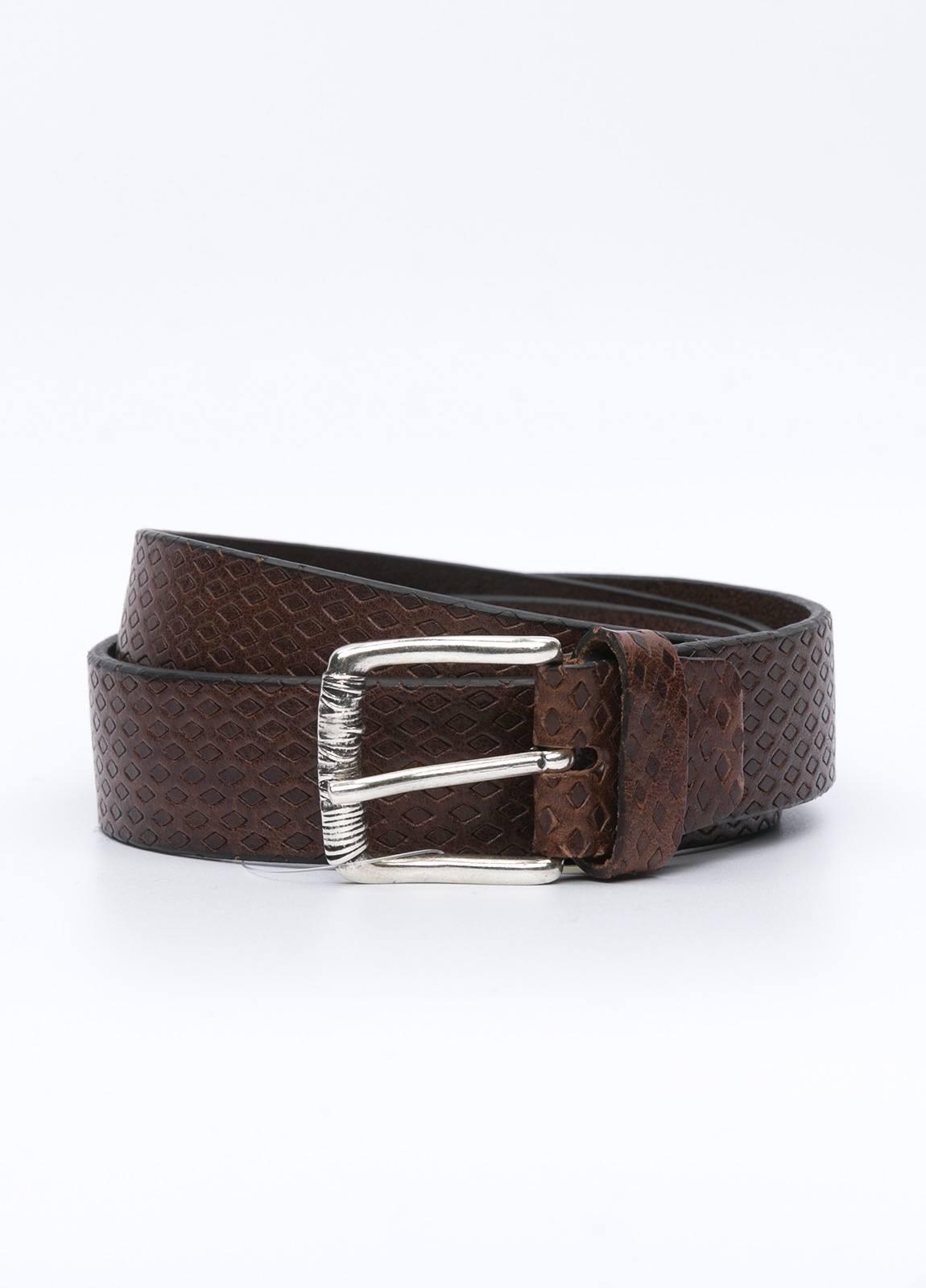 Cinturón sport ITALIAN BELTS marrón