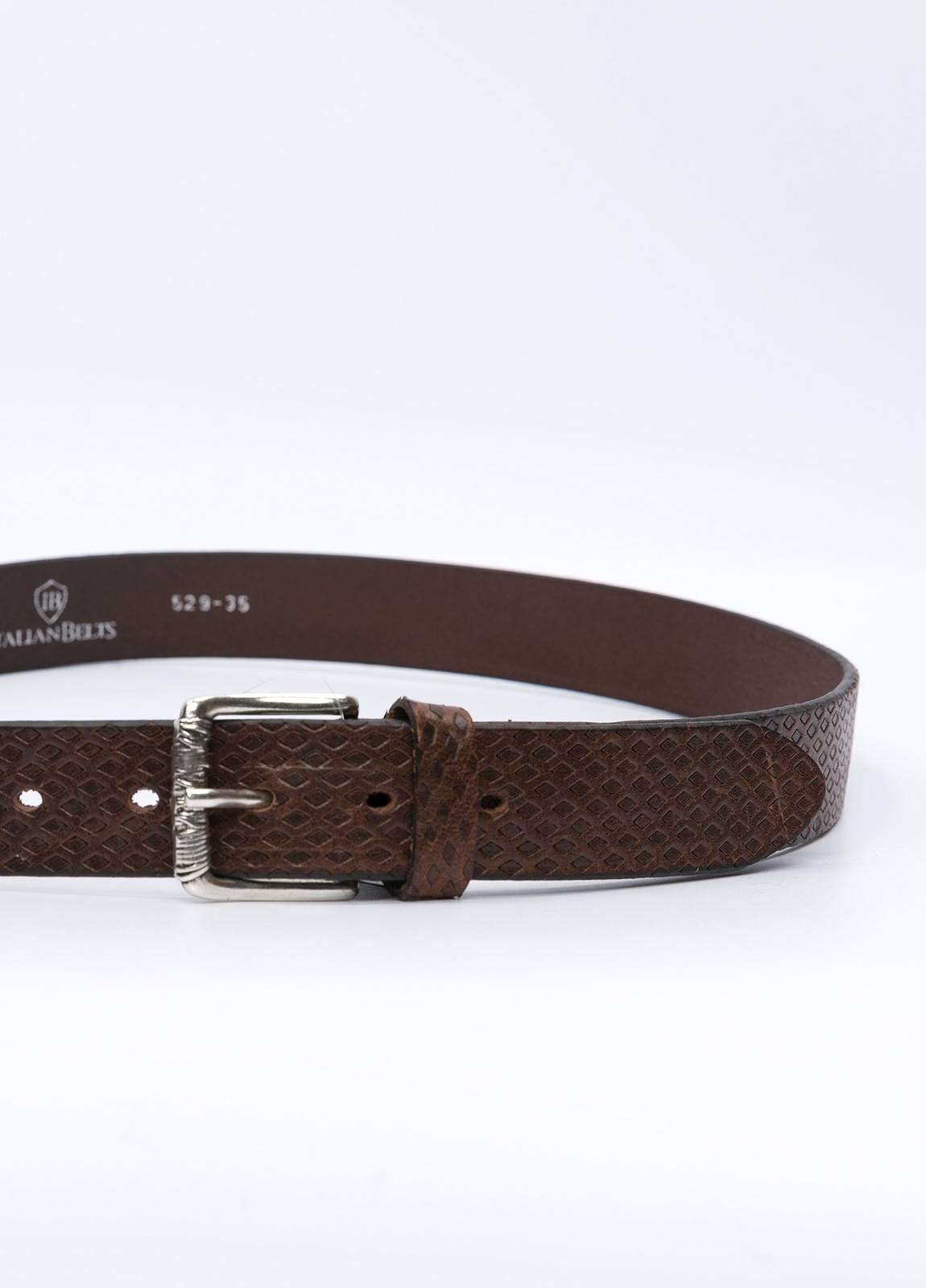Cinturón sport ITALIAN BELTS marrón - Ítem1