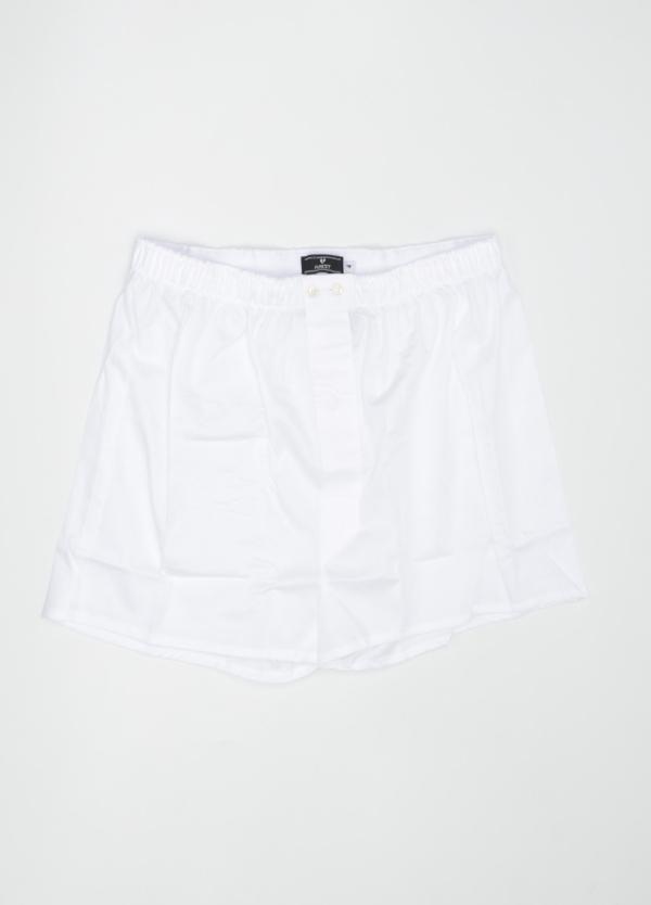Boxer liso color blanco, 100% Algodón. Bolsa incluida del mismo tejido.