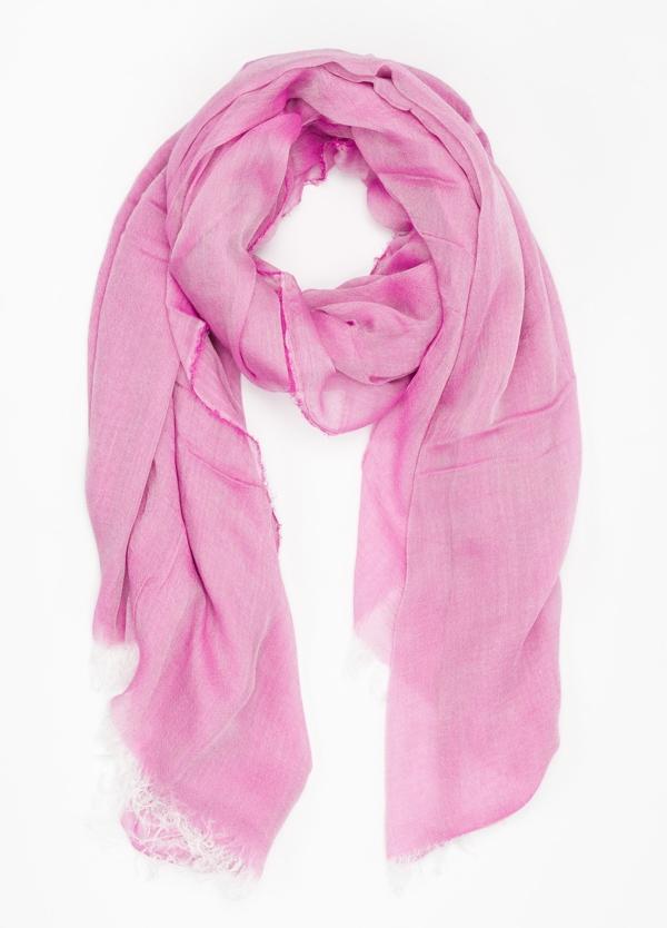 Foulard liso color rosa modelo GIGLIO 150 x 180 cm. 100% Modal