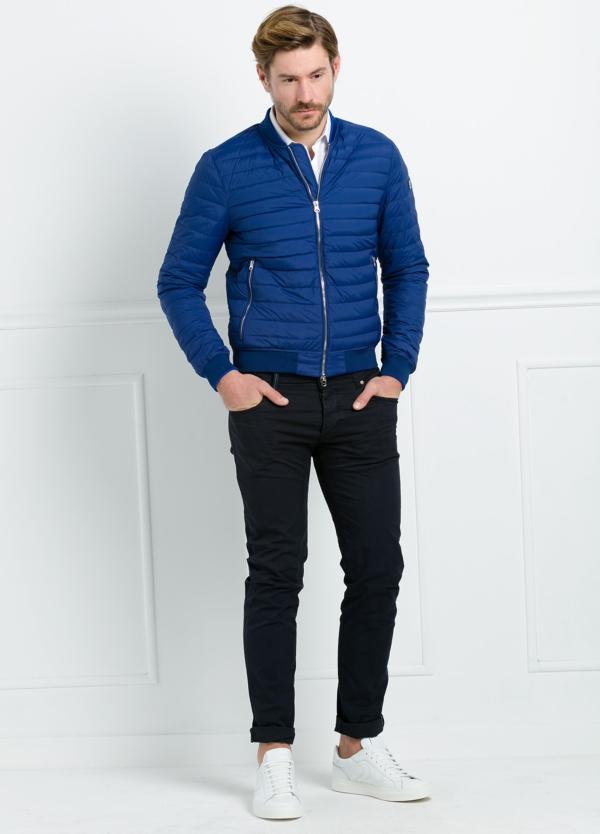 Chaqueta modelo LEON color azulón, tejido técnico. - Ítem2