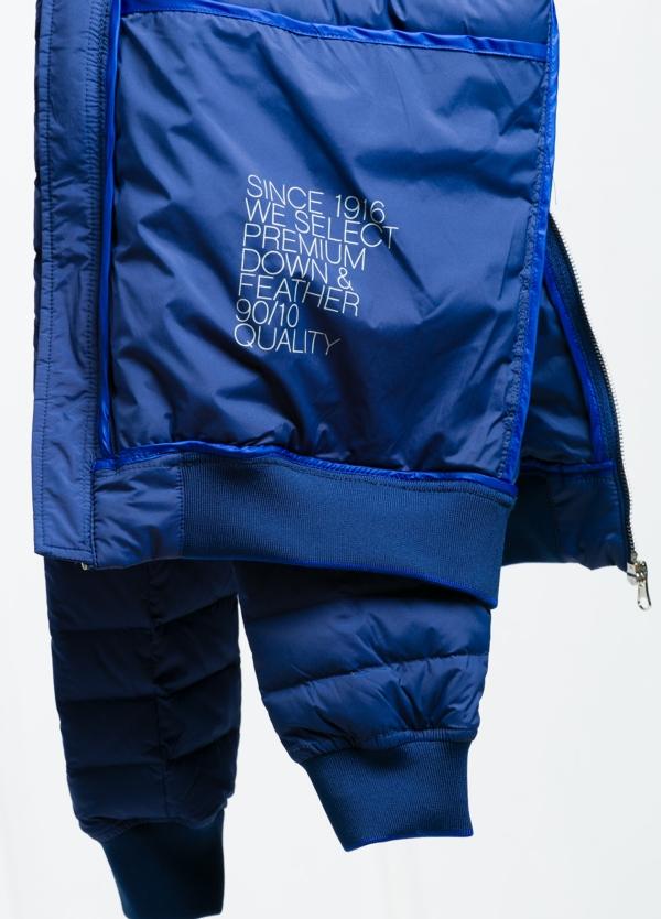 Chaqueta modelo LEON color azulón, tejido técnico. - Ítem1