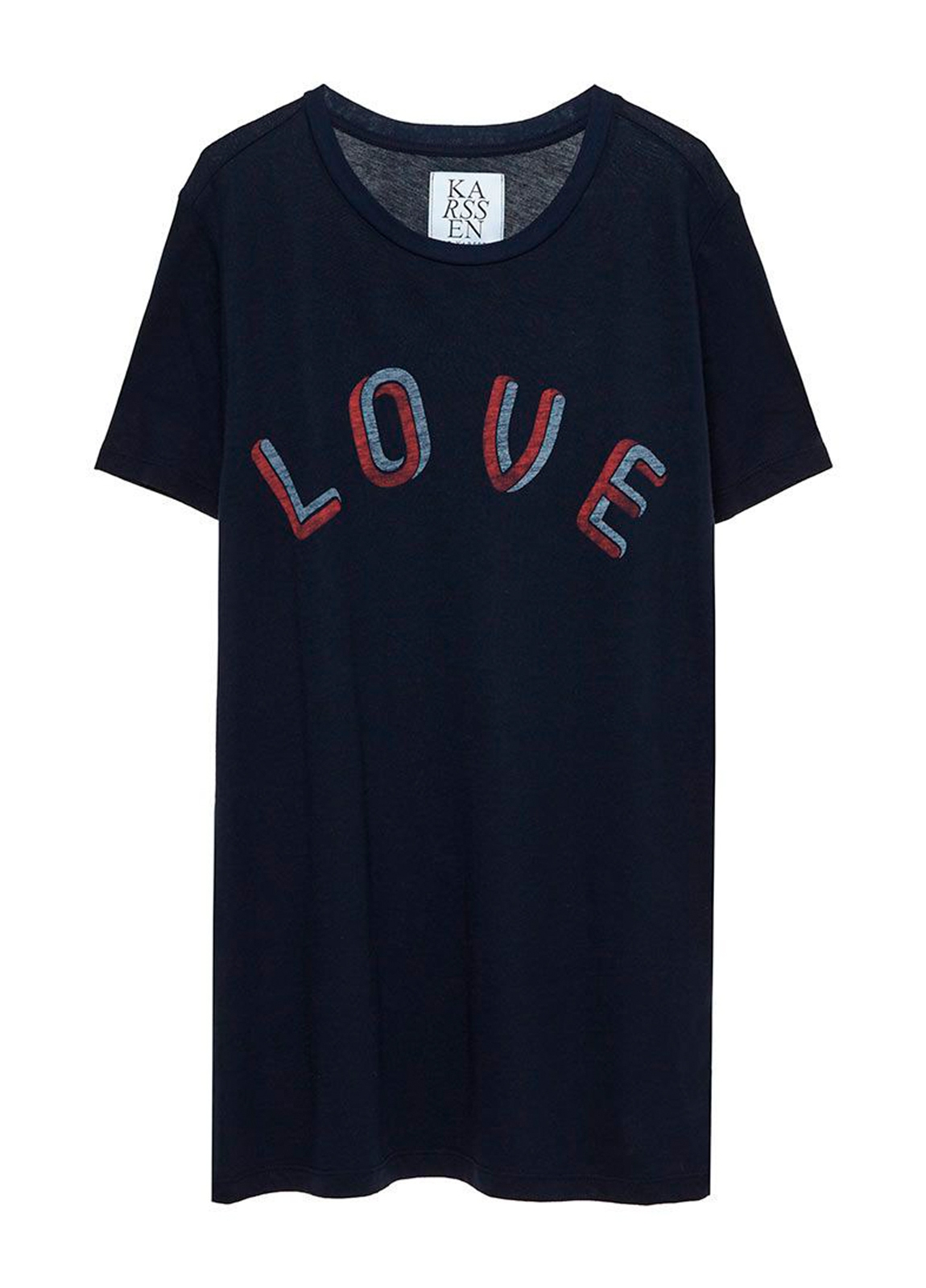 Camiseta manga corta color negro con estampado gráfico. 50% Algodón 50% Modal. - Ítem1