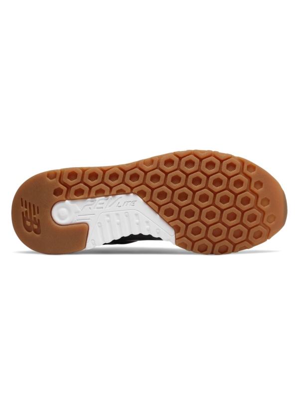 Sneaker woman MRL247 color gris oscuro, piel y malla. - Ítem2