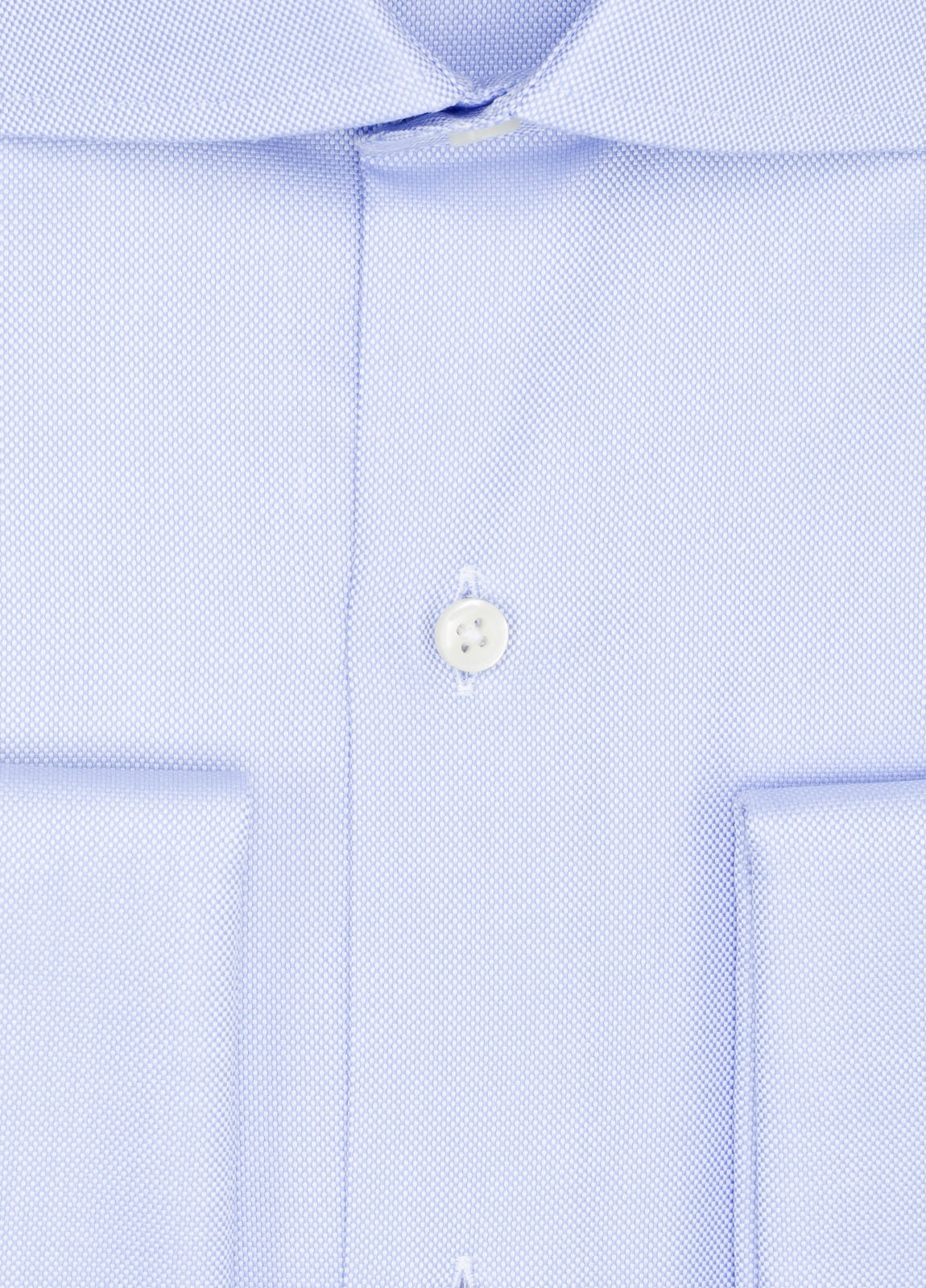 Camisa Formal Wear REGULAR FIT cuello italiano modelo TAILORED NAPOLI diseño oxford color azul, 100% Algodón. - Ítem1