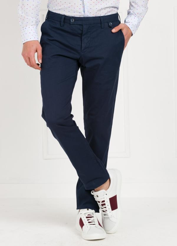 Pantalón Sport SLIM FIT , modelo JACK 02, color azul marino, 98% Algodón 2% Elastano.