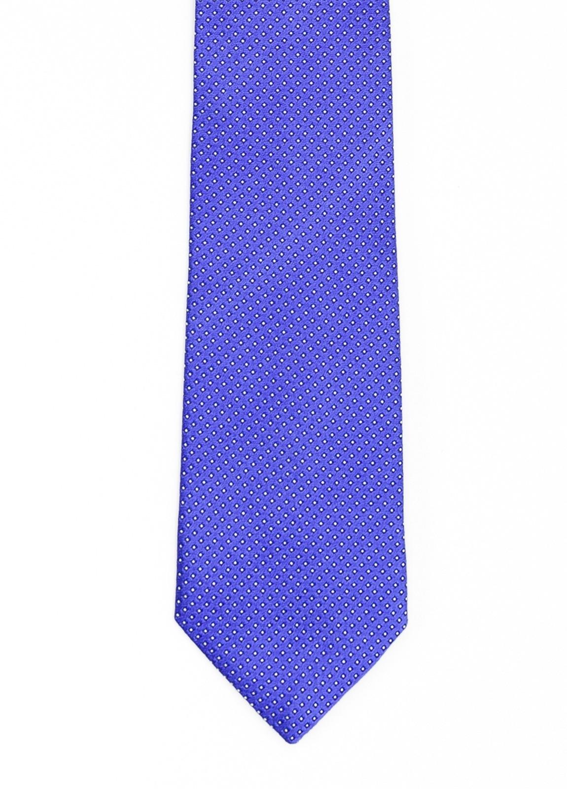 Corbata Formal Wear microdibujo color rojo. Pala 7,5 cm. 100% Seda.