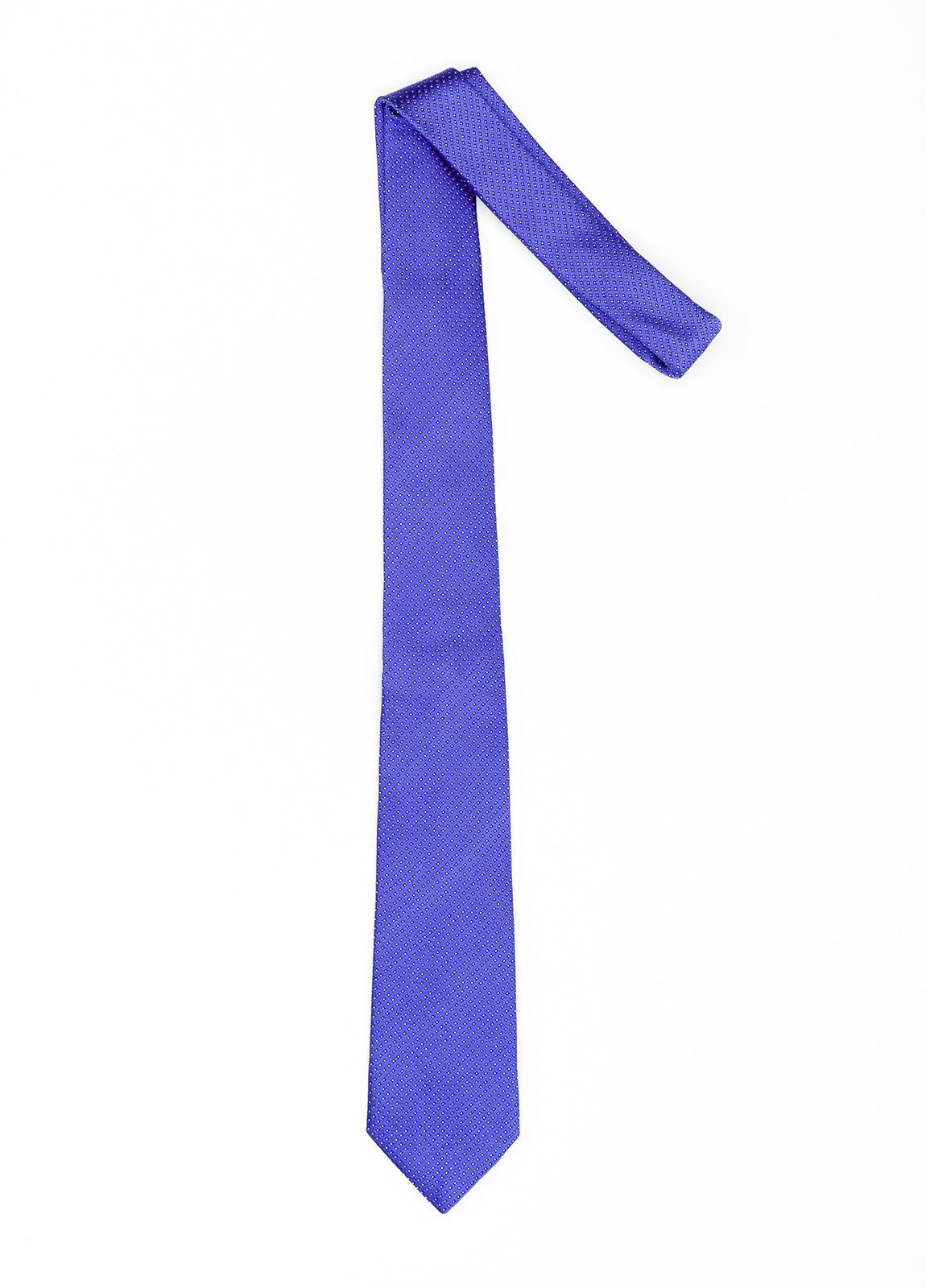 Corbata Formal Wear microdibujo color rojo. Pala 7,5 cm. 100% Seda. - Ítem1