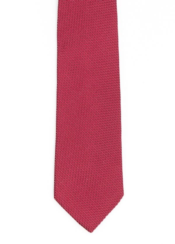 Corbata Formal Wear microtextura color granate. Pala 7,5 cm. 100% Seda.