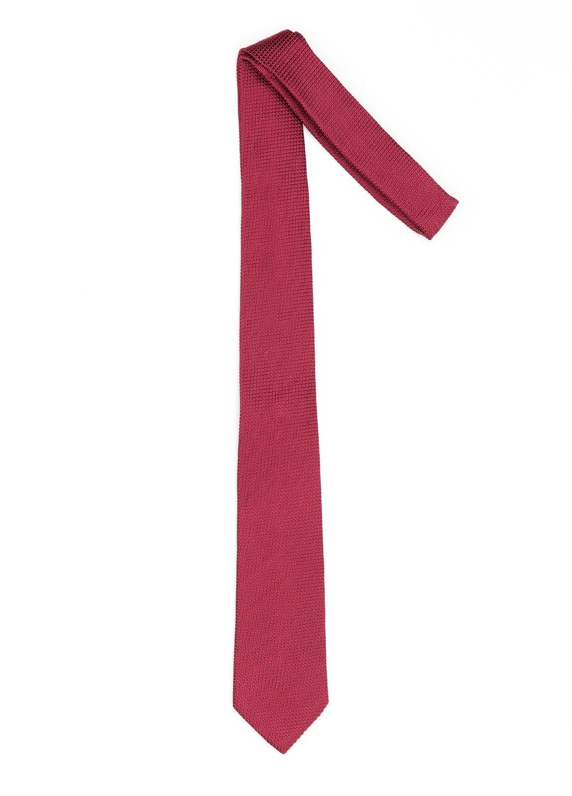 Corbata Formal Wear microtextura color granate. Pala 7,5 cm. 100% Seda. - Ítem1