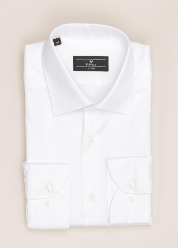 Camisa vestir FUREST COLECCIÓN SLIM FIT cuello italiano blanco