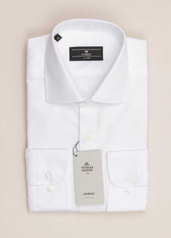 Camisa vestir FUREST COLECCIÓN REGULAR FIT blanco