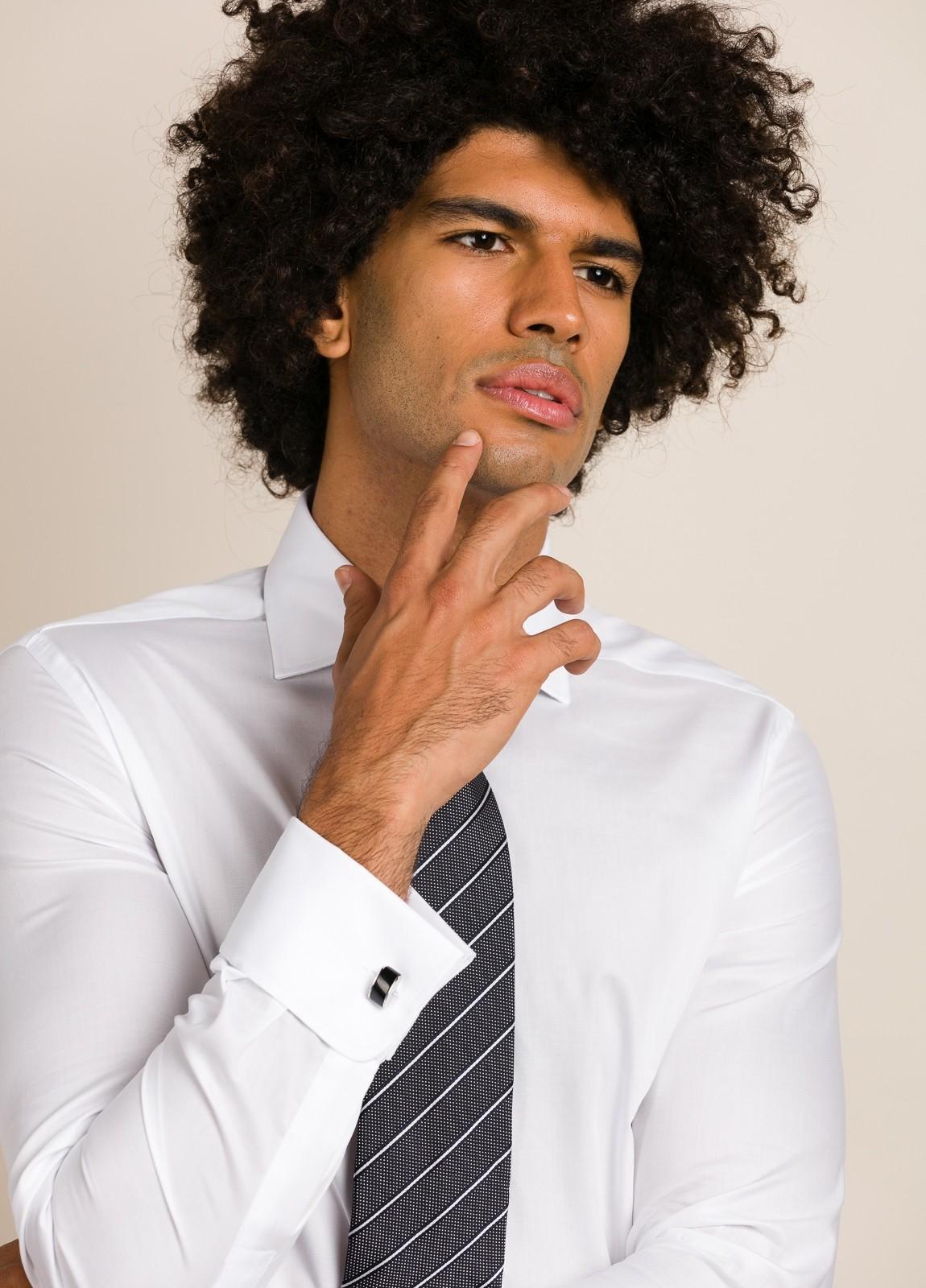 Camisa vestir FUREST COLECCIÓN Regular Fit Puño Doble blanco. - Ítem3