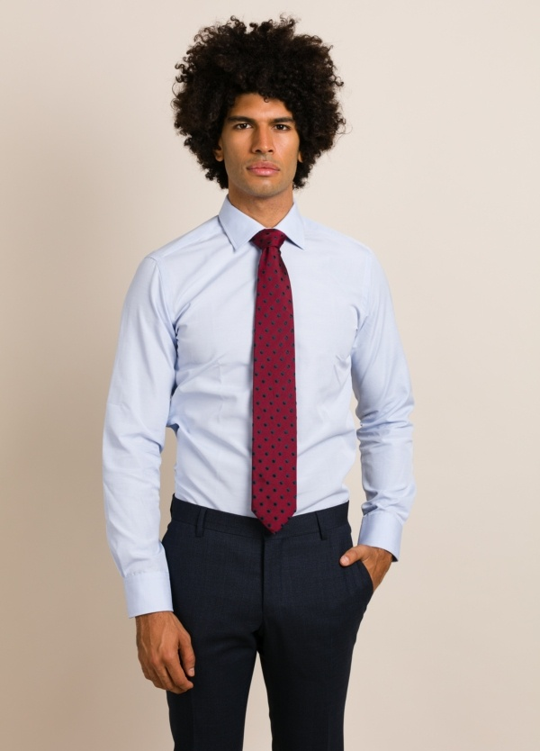 Camisa vestir FUREST COLECCIÓN SLIM FIT celeste