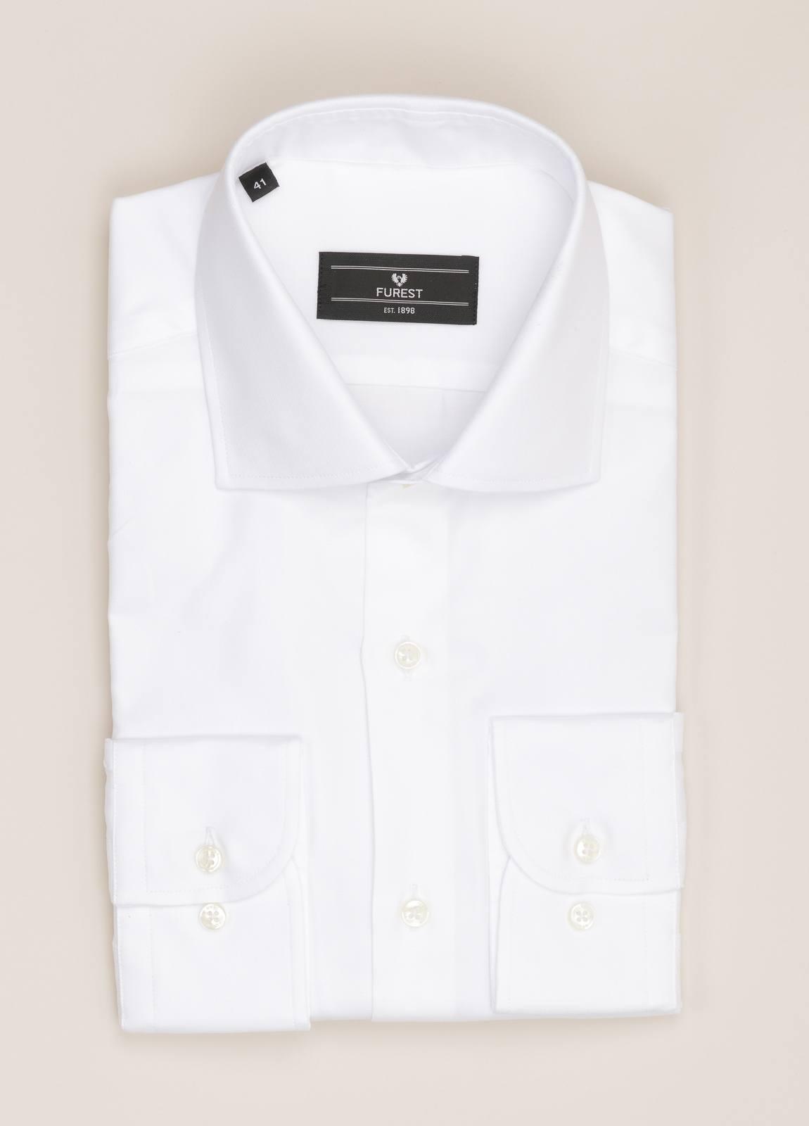 Camisa vestir FUREST COLECCIÓN REGULAR FIT blanco