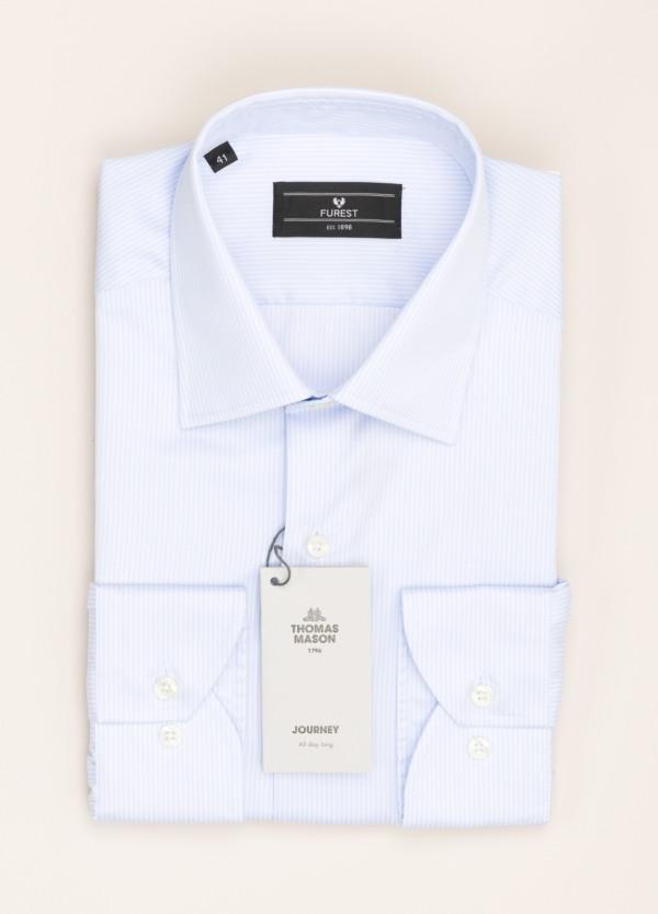 Camisa vestir FUREST COLECCIÓN REGULAR FIT rayas celeste
