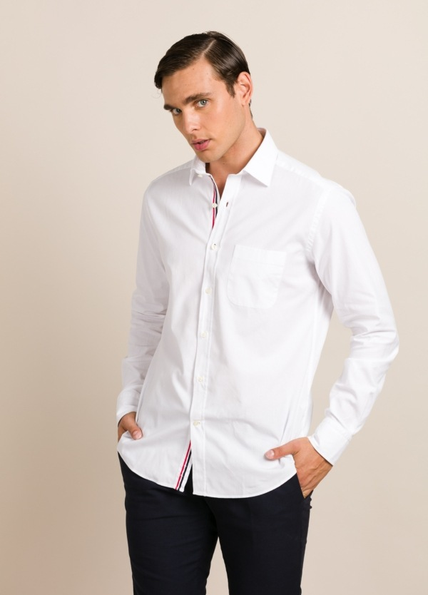 Camisa sport FUREST COLECCIÓN REGULAR FIT blanco