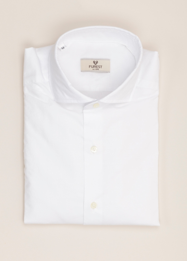 Camisa sport FUREST COLECCIÓN slim fit blanca