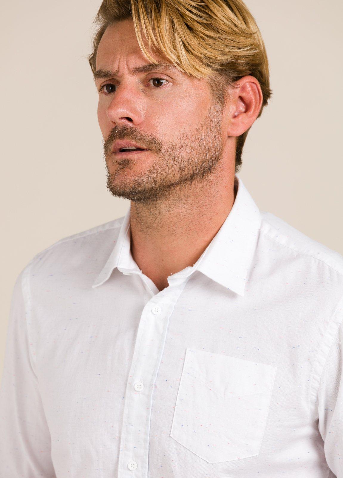 Camisa SCOTCH & SODA blanca. - Ítem3
