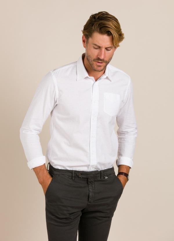 Camisa SCOTCH & SODA blanca.