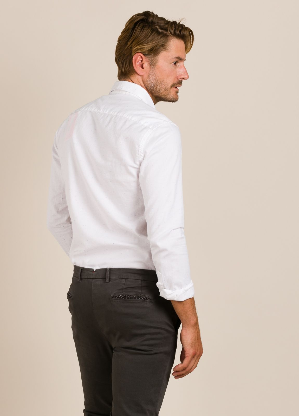 Camisa SCOTCH & SODA blanca. - Ítem1
