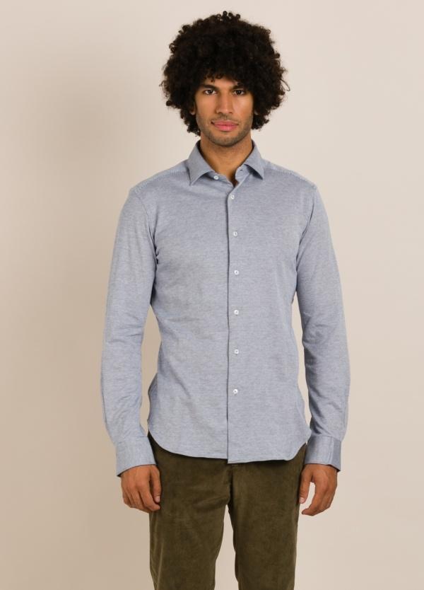 Camisa sport de punto ROBERT FRIEDMAN azul