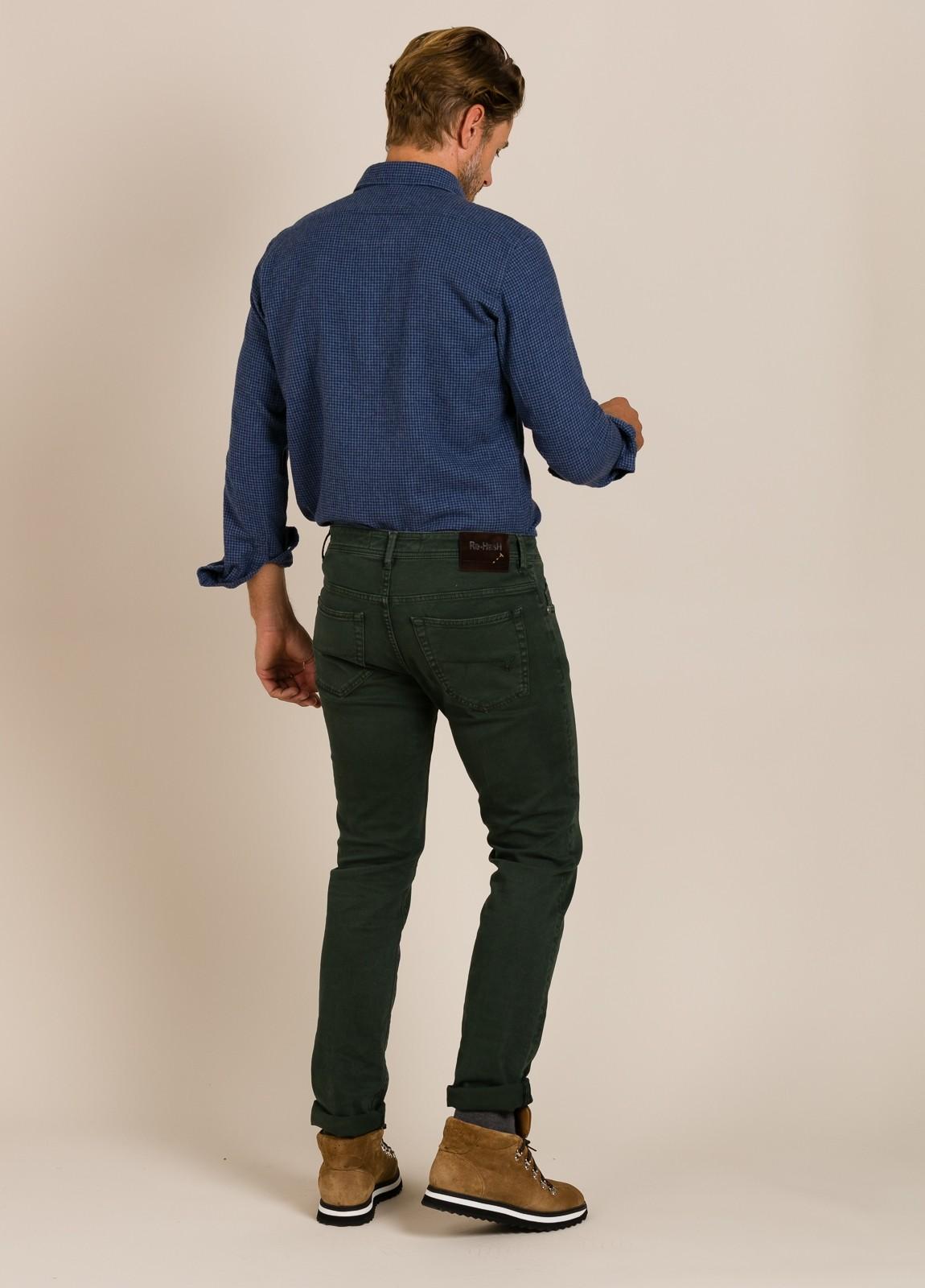 Camisa HARTFORD cuadros azul - Ítem3
