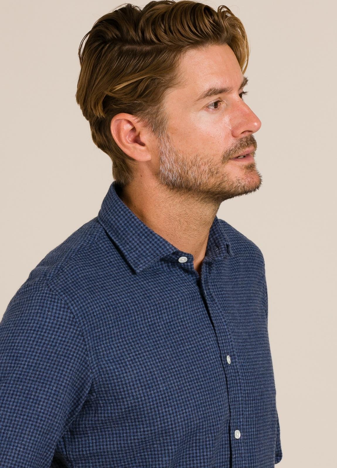 Camisa HARTFORD cuadros azul - Ítem2